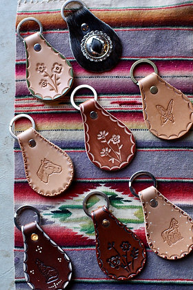 Sterling Trading Co Large Leather Keychains