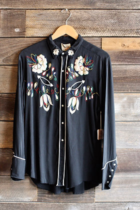 '50s Karman Embroidered Pearl Snap | Men's S/Women's M