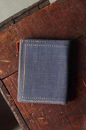 Orange Tab Levi's Denim Wallet