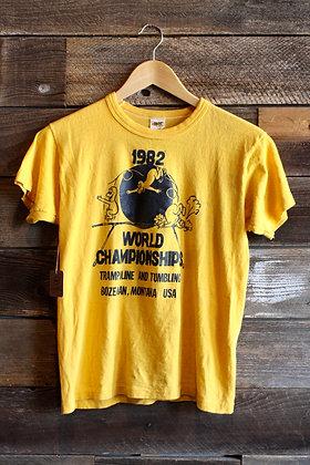 '82 Trampoline World Champs Tee | Women's M