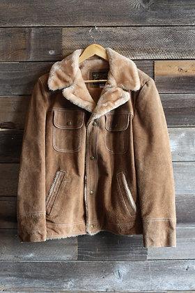 '70s Trailmaster Suede Jacket | Men's M