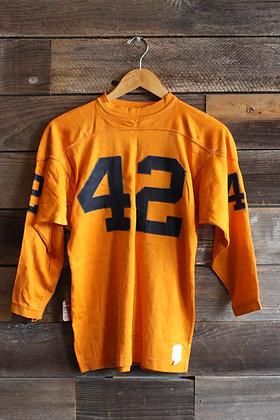 '60s Orange '42' Jersey   Women's S
