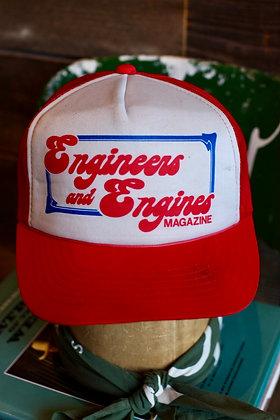 Vintage Engineers & Engines Hat | One Size