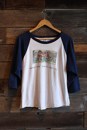 '75 Grand Funk Raglan Tee - Men's Medium