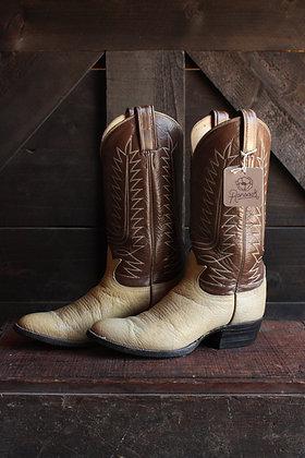 Tony Lama 2 Tone Cowgirl Boots - 5.5/6
