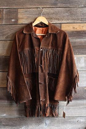 '70s Suede Fringe Jacket | M/L