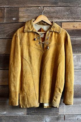 '60s Ranchwear Suede Pullover Jacket | Men's L