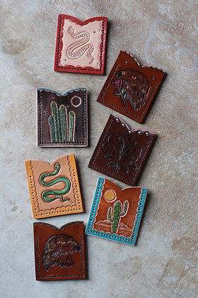 Sterling Trading Co Leather Card Wallets