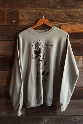 Seafoam Cowgirl Crewneck Sweatshirt