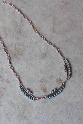 Vintage Zuni Petit Point Necklace
