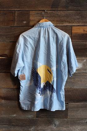 '70s OP Eagle Shirt | Men's L
