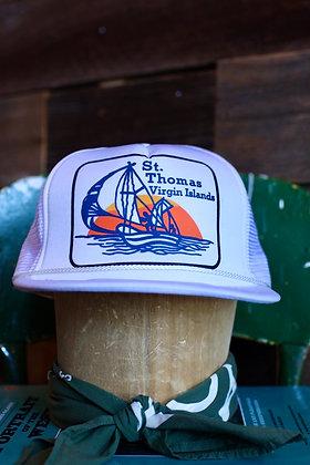 Vintage St. Thomas Virgin Islands Hat   One Size