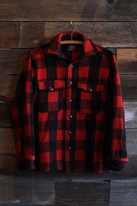 '40s/'50s Woolrich Buffalo Plaid Flannel | Men's M/Women's L