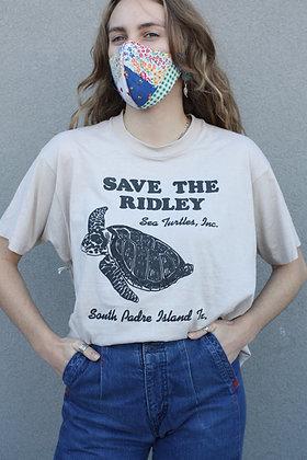 Vintage Save The Turtles Tee | Men's Large