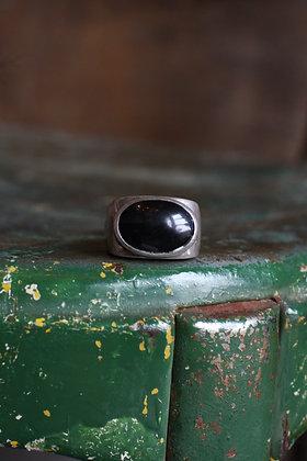 Vintage Onyx Ring | 9