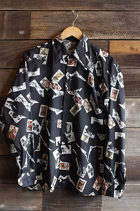 '70s Playing Cards Button Up | Men's M