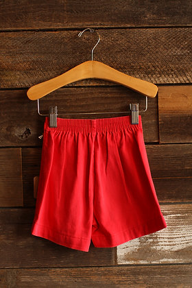 '60s Jeanies Red Shorts - Kid's 3/4
