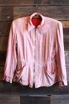 '50s Reversible Gabardine Jacket | Women's S