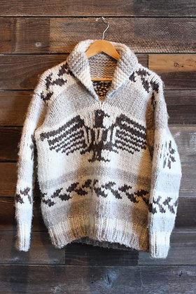 '70s Thunderbird Cowichan Sweater - Men's Large