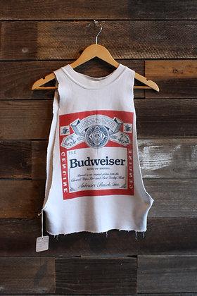 '80s/'90s Budweiser Cutoff Sweatshirt - Women's Medium