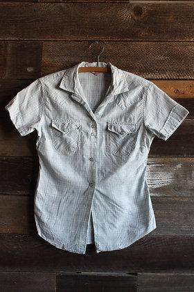 '70s H Bar C Short Sleeve Pearl Snap - Women's Small