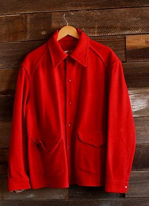 '50s Hercules Red Wool Jacket