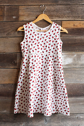 Vintage Ladybug Dress | XS/S