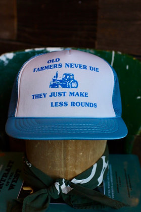 Vintage OId Farmers Hat   One Size