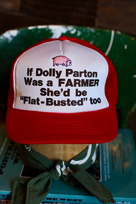 Vintage Dolly Parton Hat | One Size