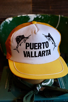 Vintage Puerto Vallarta Hat | One Size