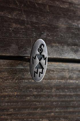 Vintage Hopi Ring   7.5
