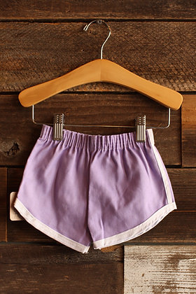 '70s Deadstock Purple Track Shorts - 18 mos.