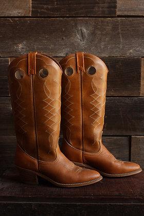 Acme Tan Cowgirl Boot - 7