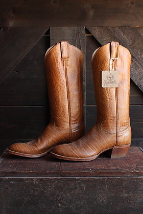 Tony Lama Wooden Style Cowgirl Boots - 6