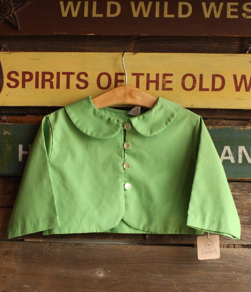 '60s Mod Lime Green Cropped Jacket - Kid's 10