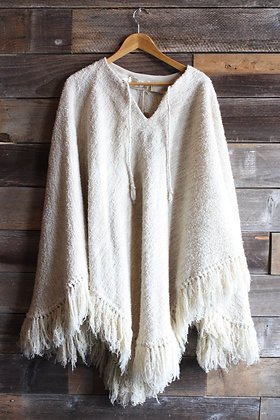 '60s Wool Poncho   One Size