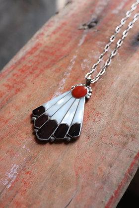 Vintage Eagle Tail Necklace