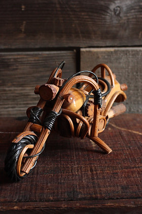 Hawaiian Wooden Motorcycle