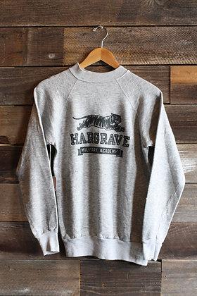 Vintage Hargrave Raglan Crewneck Sweatshirt | Men's Small