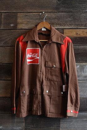 '60s CocaCola Delivery Jacket | Men's M
