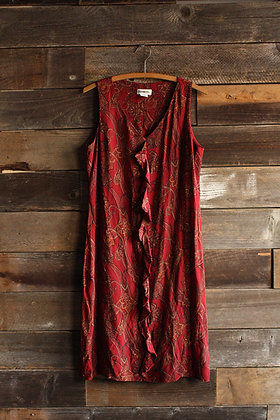 Christian Dior Silk Paisley Dress - Small/Medium