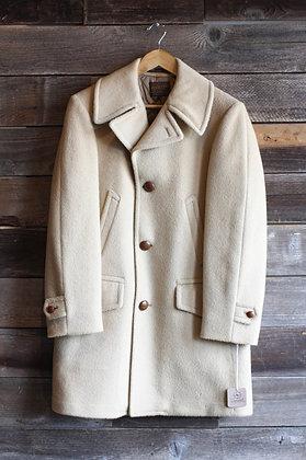 '50s/'60s Tan Pendleton Wool Coat | Men's M/Women's L