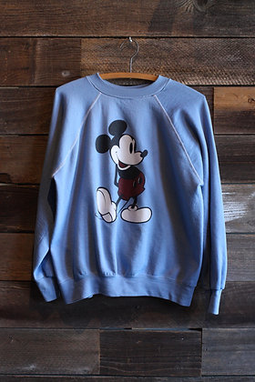 '80s Mickey Mouse Raglan Sweatshirt | Men's L/Women's XL