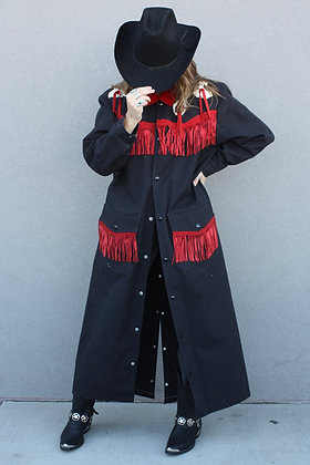 '80s American West Duster Jacket | Men's S/Women's L