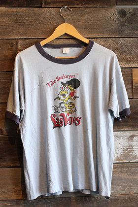 '80s Las Vegas Snakeyes Ringer Tee - Men's Large