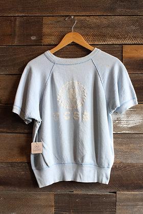 '60s UCSB Short Sleeve Raglan Crewneck Sweatshirt | Men's M