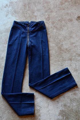 RARE '80s Rag City Blues Zip Around Jeans - Small