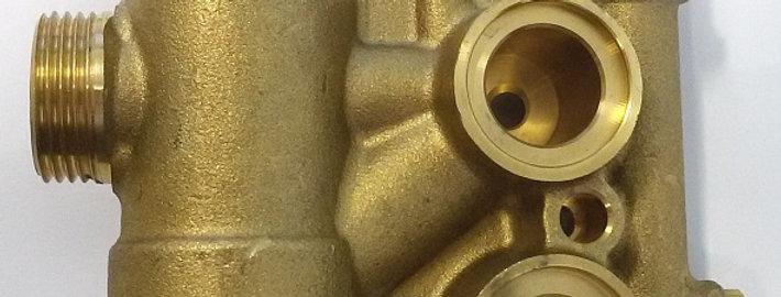 Гидроблок для котлов ASD (с местом крепления мотора 3-х ходового клапана)