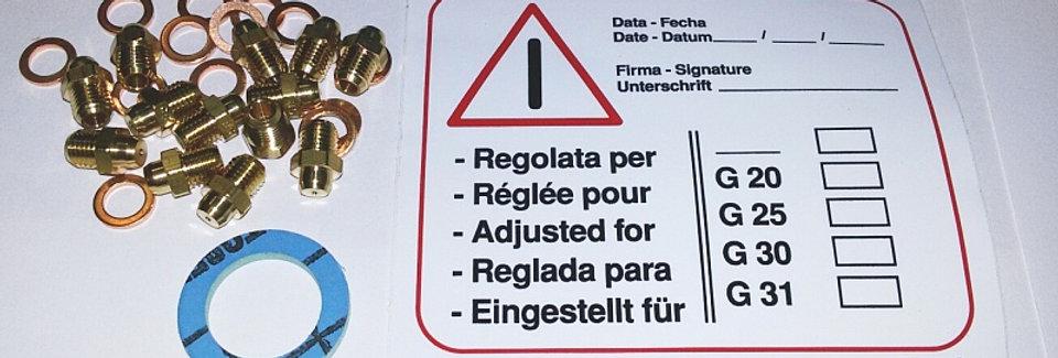 Форсунки для сжиженого газа D-0,85 (в компл. 15шт)