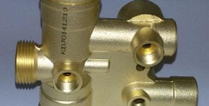 Гидроблок ASD (с местом крепления мотора трех ходового клапана 2015г)